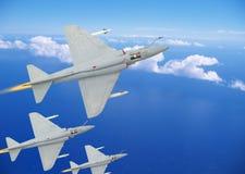 Avions de chasseur Photo libre de droits