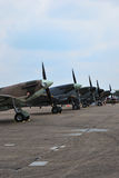 Avions de combat Image libre de droits