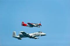 Avions de combat WW2 Images libres de droits