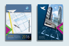 Avions de couverture de construction illustration libre de droits