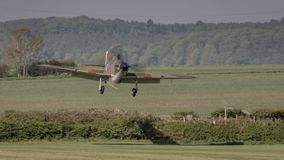 Avions de cru de Hurricane de colporteur photographie stock libre de droits