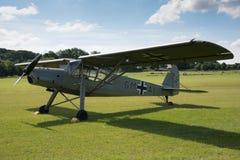 Avions de Fieseler Storch d'Allemand de vintage Image libre de droits
