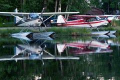 Avions de flotteur photographie stock