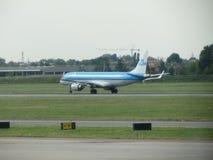 Avions de KLM Photographie stock libre de droits