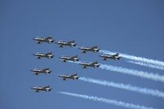 Avions de l'Armée de l'Air Photographie stock libre de droits