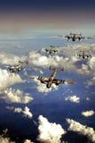 Avions de la deuxième guerre mondiale Image stock