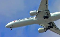 Avions de ligne classiques modernes Images libres de droits