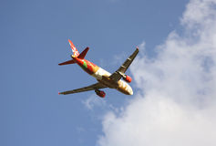 Avions de lignes aériennes de Malte d'air Image stock