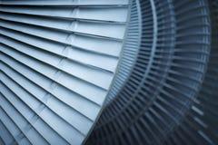 Avions de moteur à réaction de lames de turbine de turbines Photo stock