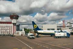 Avions de RYANAIR Boeing 737-8AS Images libres de droits