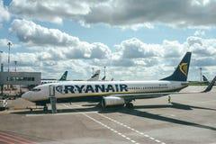 Avions de RYANAIR Boeing 737-8AS Image stock