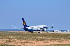 Avions de Ryanair dans des couleurs de Dreamliner Photos libres de droits