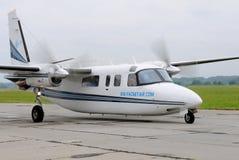 Avions de transport de passagers légers Photographie stock libre de droits