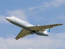 Avions de transport de passagers Yak-42D Images stock