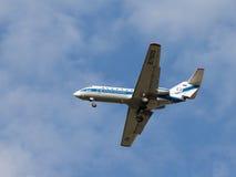 Avions de transport de passagers Yak-40k Image stock