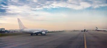 Avions Departuring dans Congonhas Photo libre de droits
