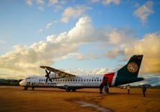 Avions domestiques à Mandalay, Myanmar Image libre de droits
