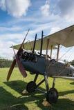 Avions du vintage RAF BE2c les Anglais Images stock
