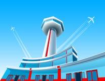 Avions et aéroport Photos stock