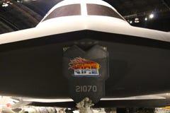 Avions furtifs B-2 Photos stock