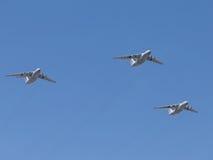 Avions Il-76 Photographie stock