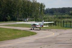 Avions légers Photo libre de droits