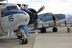 Avions militaires Images stock