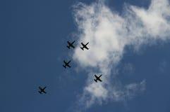 Avions militaires Photos stock