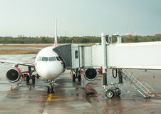 Avions prêts Photo libre de droits
