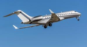 Avions privés globaux de bombardier 6000 Images libres de droits