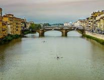 Aviron à Florence Photos libres de droits