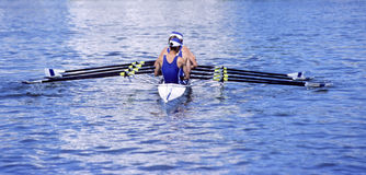 Aviron Photo stock
