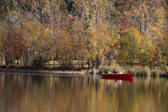 Aviron d'automne Photos libres de droits