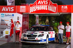Avis Bosphorus Rally Royaltyfria Foton