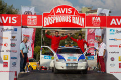 Avis Bosphorus Rally Stock Images