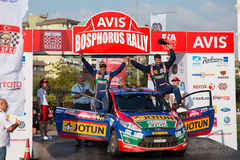Avis Bosphorus Rally Royalty Free Stock Photography
