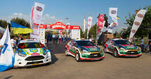 Avis Bosphorus Rally Stock Photography