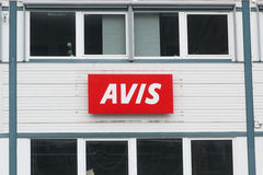 Avis building Royalty Free Stock Photography