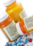 Aviso da medicamentação fotografia de stock