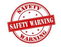 Aviso da segurança ilustração stock