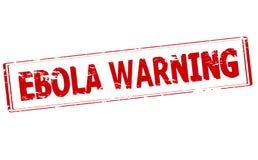 Aviso de Ebola ilustração royalty free