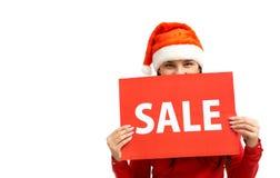 Aviso de la venta Fotos de archivo libres de regalías