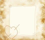 Aviso del amor Fotografía de archivo libre de regalías