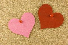 Aviso del amor Fotos de archivo