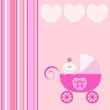 Aviso del bebé Imágenes de archivo libres de regalías