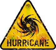 Aviso do furacão ilustração royalty free