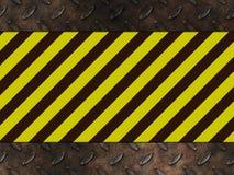 Aviso do perigo do perigo ilustração stock