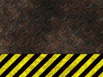 Aviso do perigo do perigo ilustração do vetor