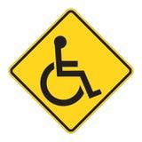 Aviso do sinal de estrada ilustração do vetor
