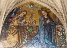 Aviso do Virgin Mary foto de stock royalty free